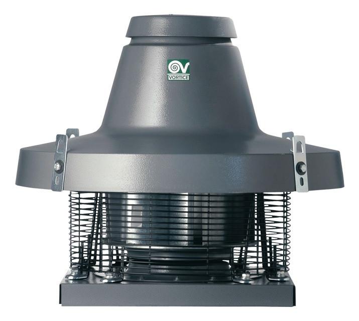 Крышный центробежный вентилятор TRT 100 ED 8P