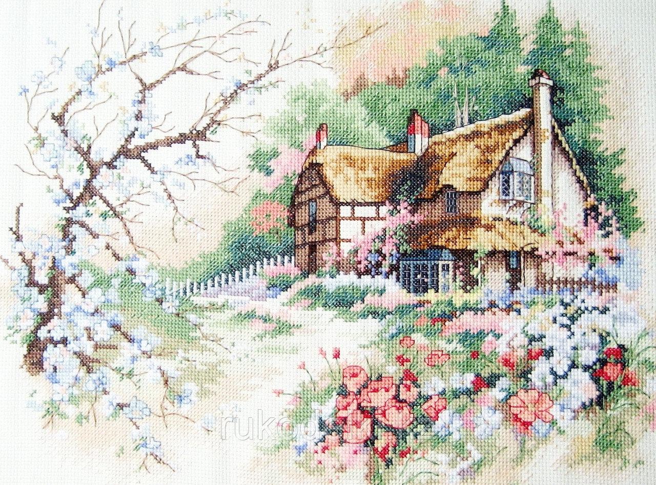 """Набор для вышивания крестом """"Уютный дом"""""""