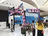 Оформление выставки в Алматы и Астане