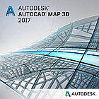 AutoCAD Map 3D 2018 Commercial New Single-user ELD годовая подписка