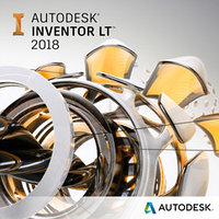 Autodesk AutoCAD Inventor LT 2018 Commercial New Single-user ELD годовая подписка