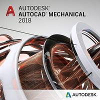Autodesk AutoCAD Mechanical 2018 Commercial New Single-user ELD годовая подписка