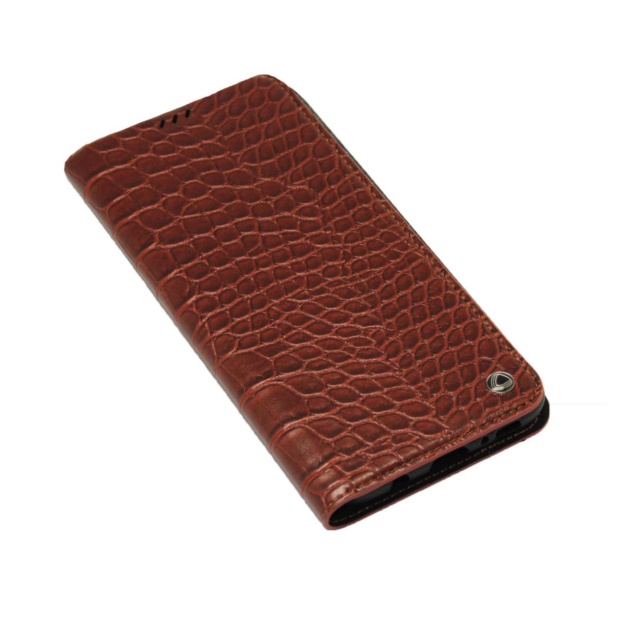 Чехол OCCA Wild Flip кожаный Samsung S8 Plus