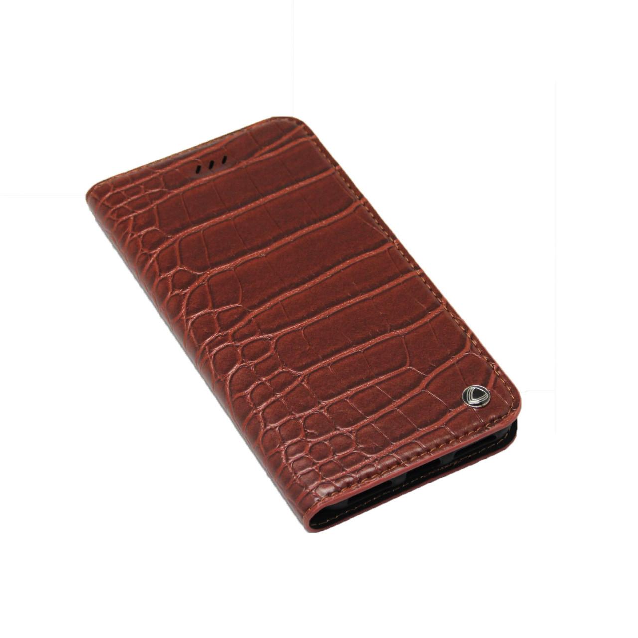 Чехол OCCA Wild Flip кожаный iPhone 7