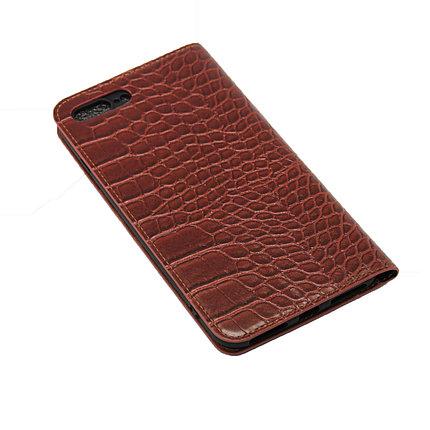 Чехол OCCA Wild Flip кожаный iPhone 7 Plus, фото 2