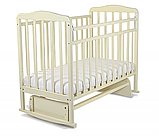 СКВ Кровать детская МИТЕНЬКА (маятник поперечный) 164007 орех, фото 3