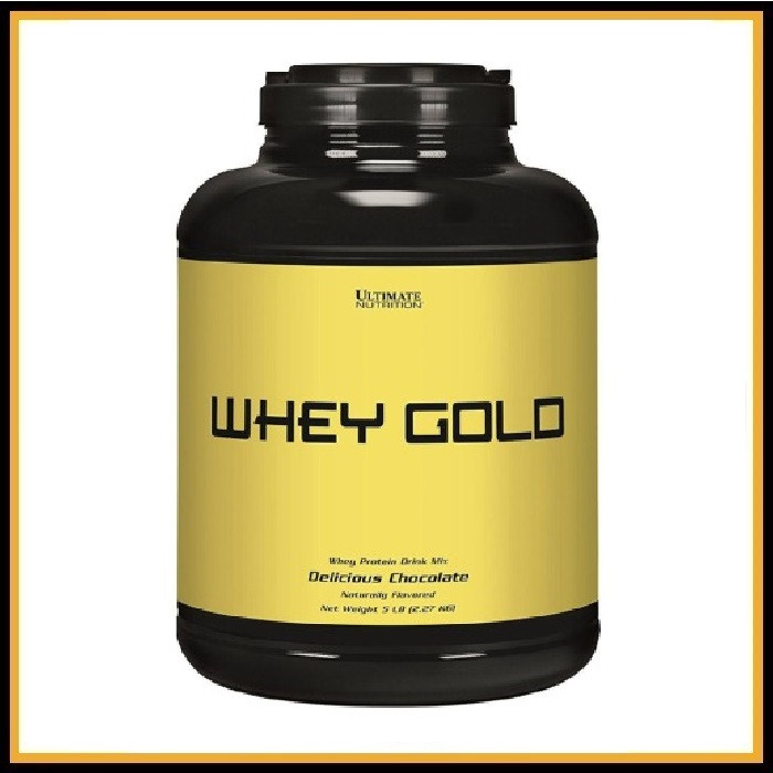 Ultimate Nutritition Whey Gold 5lb 2,4кг (Шоколад)