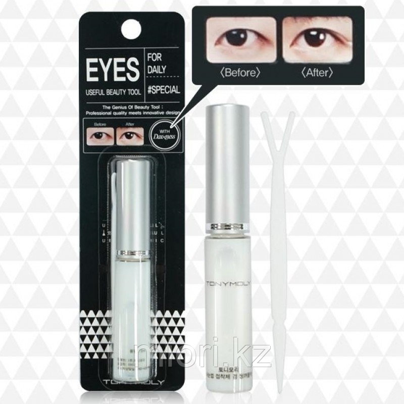 Набор для коррекции верхнего века (сангапури) Tony Moly Eye Lash Adhesive