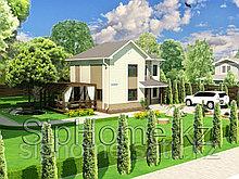 Проект дома «Коктем» 160 кв.м. из SIP панелей