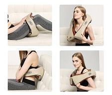 Массажер для шеи и спины роликовый Roller massager, фото 2