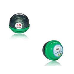 Жвачка для рук NanoGum - Изумрудное сияние, (3D эфект) 25 гр.