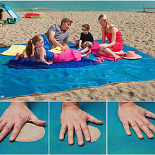 Коврик для пляжа самочищающийся от песка