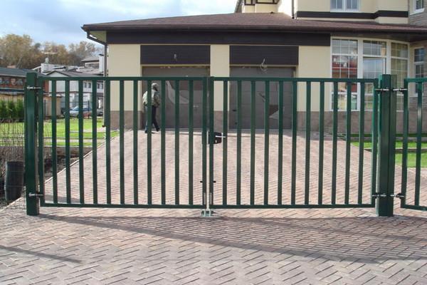 Уличные ворота 8
