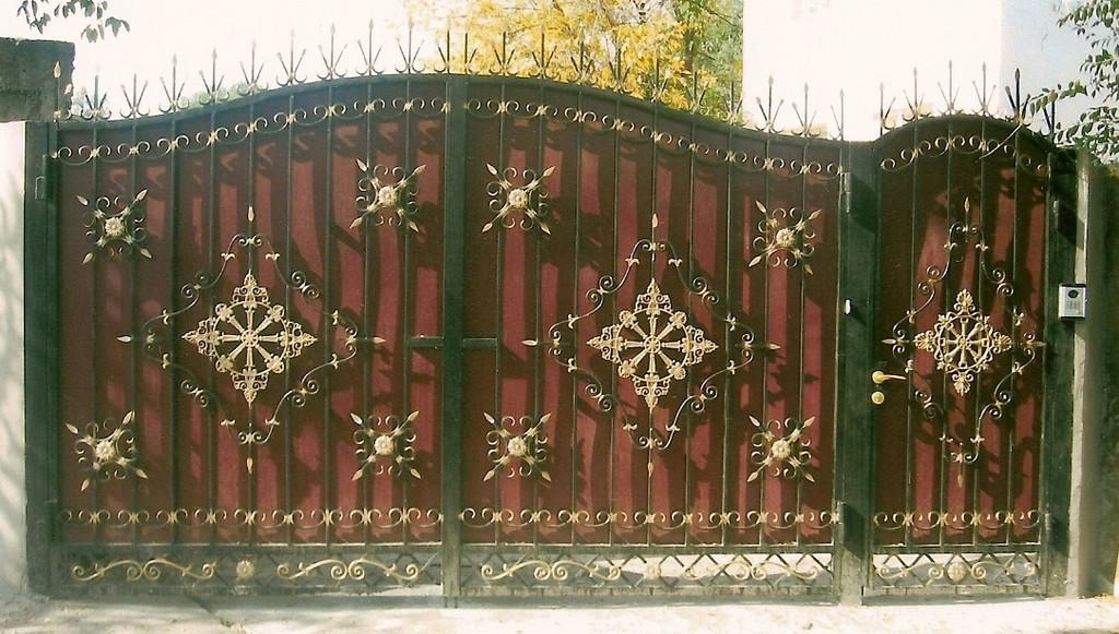 Уличные ворота 3