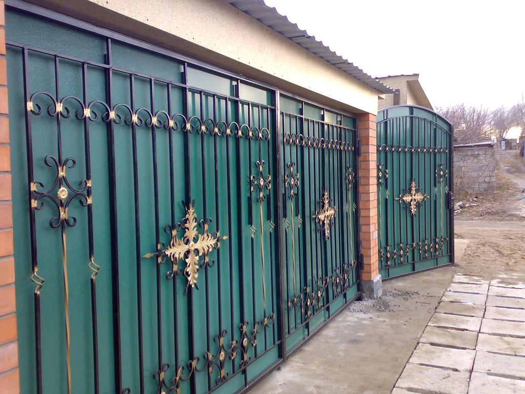 Уличные ворота -1