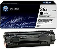 HP CB436A Black Print Cartridge for LaserJet P1505/M1120/n/M1522, up to 2000 pages. ;