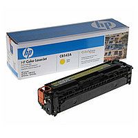 HP CB542A Yellow Print Cartridge Toner for Color LaserJet CM1312/CP1215/CP1515n/CP1518, up to 1400 pages. ;
