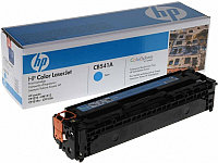 HP CB541A Cyan  Print Cartridge Toner for Color LaserJet CM1312/CP1215/CP1515n/CP1518, up to 1400 pages. ;