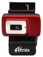 WebCamera Ritmix RVC-053M, HD720p, up to 30 fps, USB, mic, clip-on