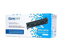 Картридж, Europrint, EPC-541A, Синий, Для принтеров HP Color LaserJet CM1300/1312/CP1210/ 1215/1510/1515, 1400 страниц.