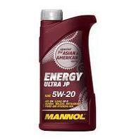 Моторное масло MANNOL Energy Ultra JP 5W20 1 литр