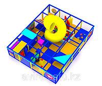 Трехярусный детский игровой лабиринт Морской, фото 1