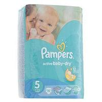 Подгузники Pampers Active Baby-dry, Junior 5 (11-18 кг), 16 шт.