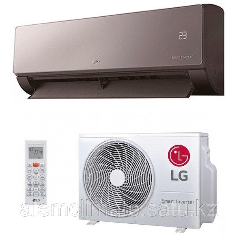 Настенный кондиционер LG AM09BP (25-30м2.) серия ARTCOOL MIRROR INVERTOR NEW