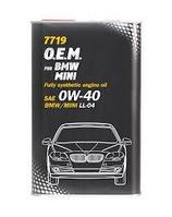 Моторное масло MANNOL O.E.M. for BMW Mini 0W40 1 литр