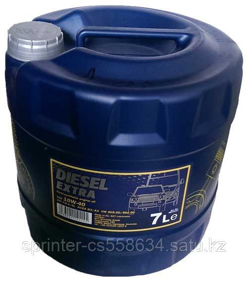 Моторное масло MANNOL Diesel Extra 10W40 7 литров