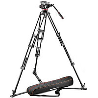 Manfrotto 502HD Head w/546GB-1 2-Stage Aluminum Tripod System