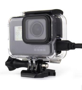 Защитный кейс прозрачный для GoPro hero 4, 3