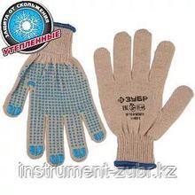 Перчатки утепленные, акриловые, с защитой от скольжения, 10 класс, S-M, ЗУБР Профессионал 11463-S