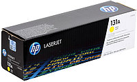 HP CF212A 131A Yellow Toner Cartridge for LaserJet Pro 200 M251/Pro 200 M276, up to 1800 pages. ;