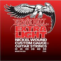 Комплект струн для гитары, никель, 10-50, Ernie Ball