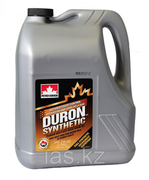 Моторное масло Petro-Canada Duron Synthetic 5w40 4 литра