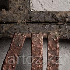 Настенные часы в большой металлической раме  Big Clock Metal Frame, фото 3