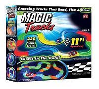 Светящийся гибкий трек Magic tracks 220 дет.