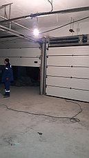 Автоматические секционные ворота, фото 3