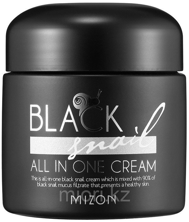 Улиточный крем Mizon Black Snail All In One Snail Repair Cream,75мл