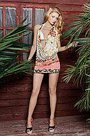 Платье с глубоким вырезом-волной Laete