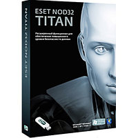 ESET NOD32 TITAN (BOX) База 3ПК/1год