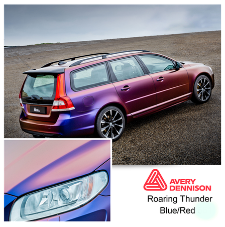 Автовинил Avery Dennison |  Roaring Thunder - ColorFlow™, фото 2