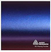 Автовинил Avery Dennison |  Roaring Thunder - ColorFlow™