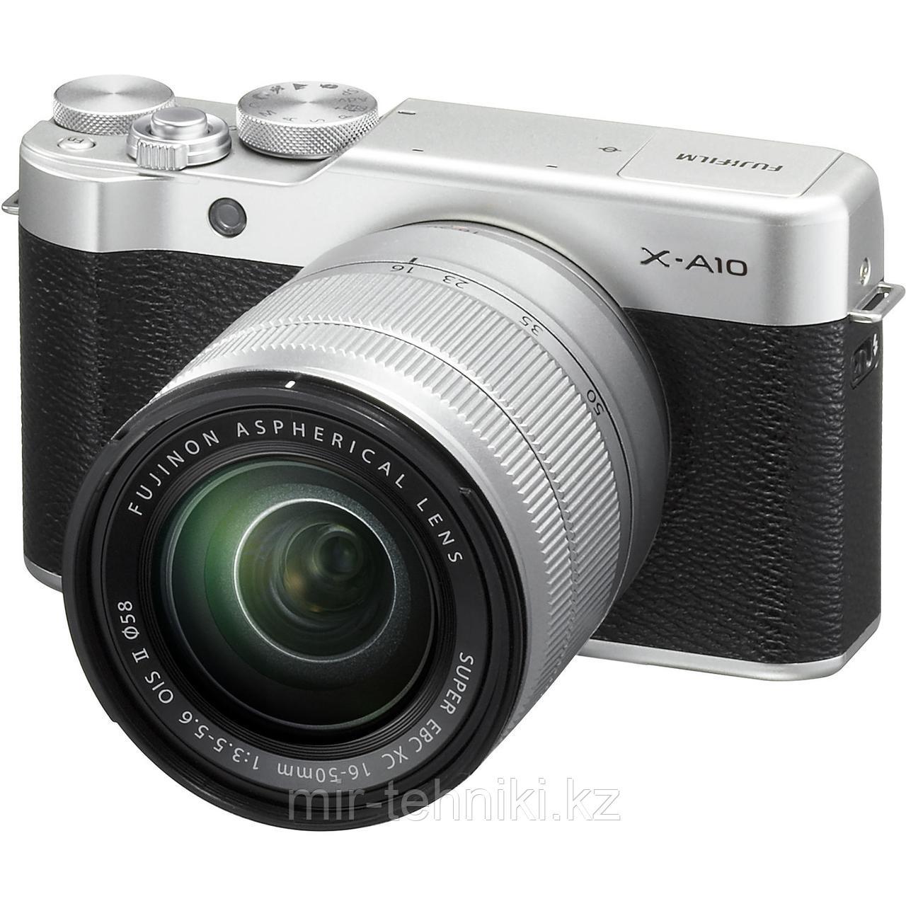 Fujifilm X-A10 KIT (XC16-50mm F3.5-5.6 II) Silver