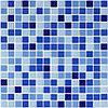 Мозаика стеклянная NO 1017