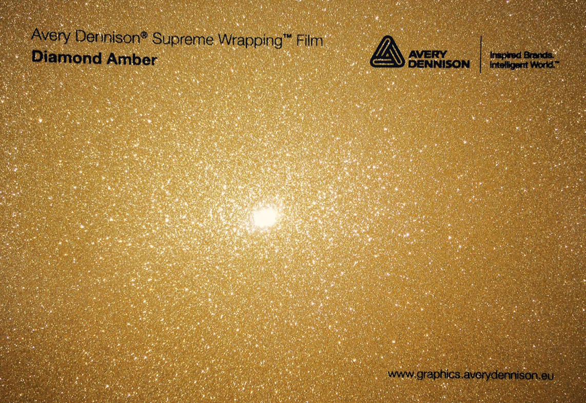 Автовинил Avery Dennison | Diamond  AMBER