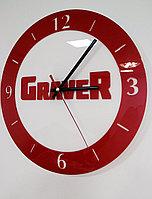 Настенные часы с лого, фото 1