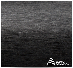 Автовинил Avery Dennison | Brushed Black, фото 2