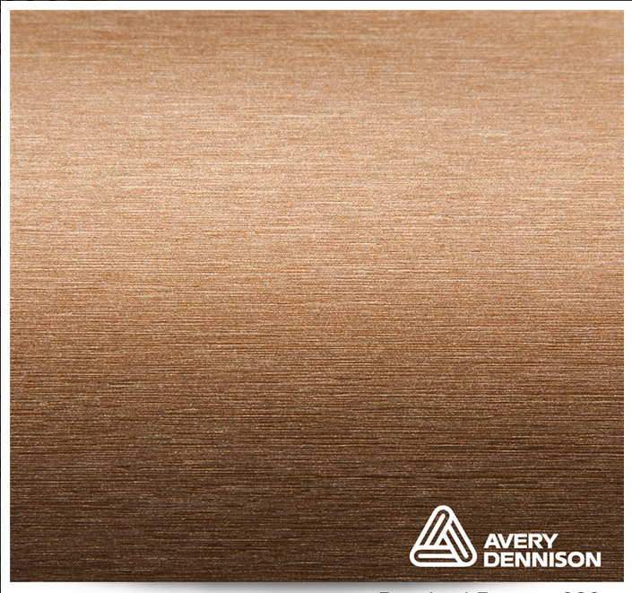 Автовинил Avery Dennison | Brushed Bronze